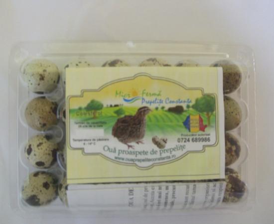 Oua de prepelita pentru consum si tratament